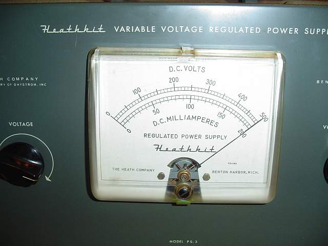 Heathkit model PS-3 High Voltage Regulated Power Supply
